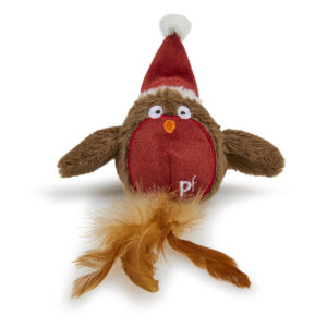Christmas Robin Cat Toy by Petface