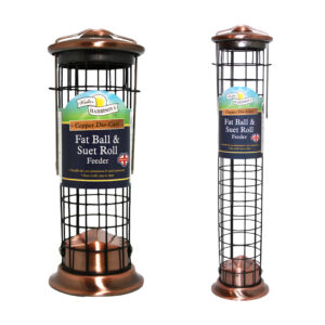 Fat Ball / Suet Bird Feeder in Copper – 20cm and 40cm by Harrison's.