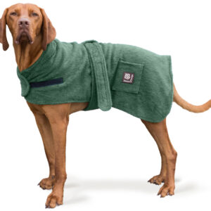 Cotton Dog Robe by Danish Design – Green