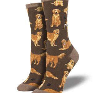 Golden Retrievers – Women's Socks by Sock Smith